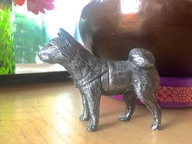 Hachi souvenir from Hachi: A Dog's Tale