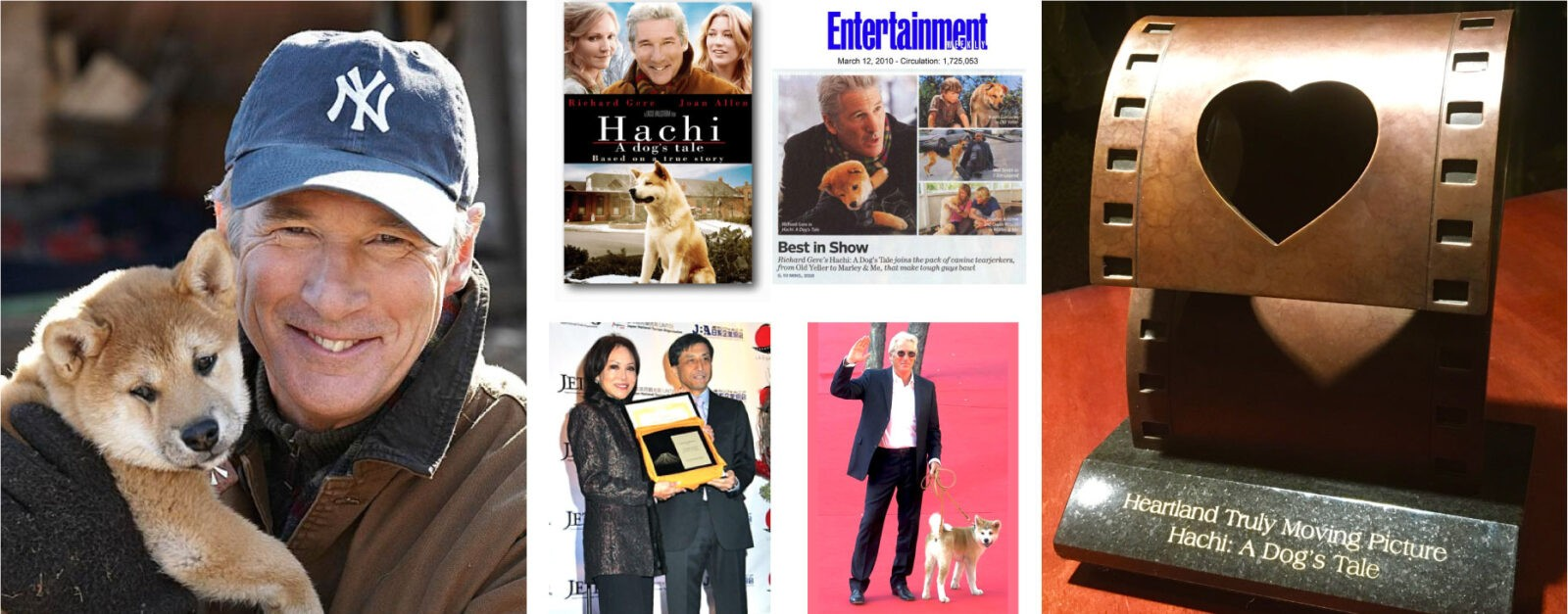 Hachi: A Dog's Tale Richard Gere & Awards