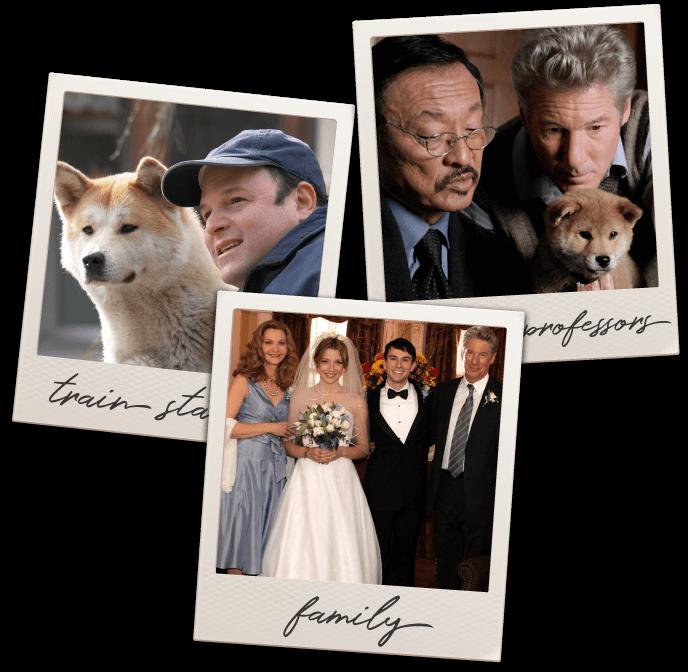 Hachi: A Dog's Tale Cast